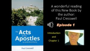 The Acts of the Apostles Commentary - A new audio book
