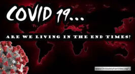 COVID 19: April 2020... Are we living in the end times?