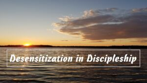 Pause to Consider - 'Desensitization in Discipleship'....Video Podcast