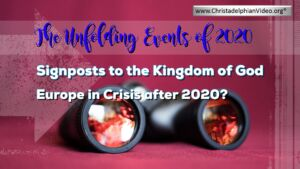 Mississauga Prophecy Day Studies (The unfolding events of 2020)