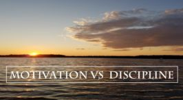 Pause to Consider - 'Motivation vs Discipline'....Video Podcast