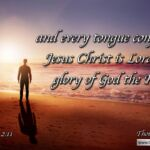 """Daily Readings & Thought for April 8th. """"EVERY TONGUE CONFESS THAT …"""""""