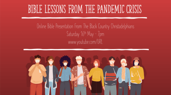 Bible Lessons From The Pandemic Crisis