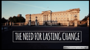The Need For Lasting Change!