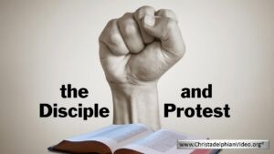The Disciple of Christ And Protest.
