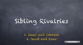"""""""Sibling Rivalries"""": 2 Videos (Talks for youths)"""